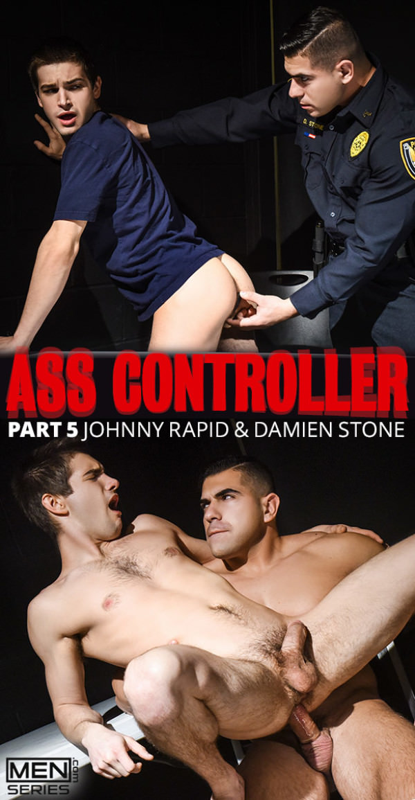 Men.com Ass Controller, Part 5 Damien Stone fucks Johnny Rapid DrillMyHole
