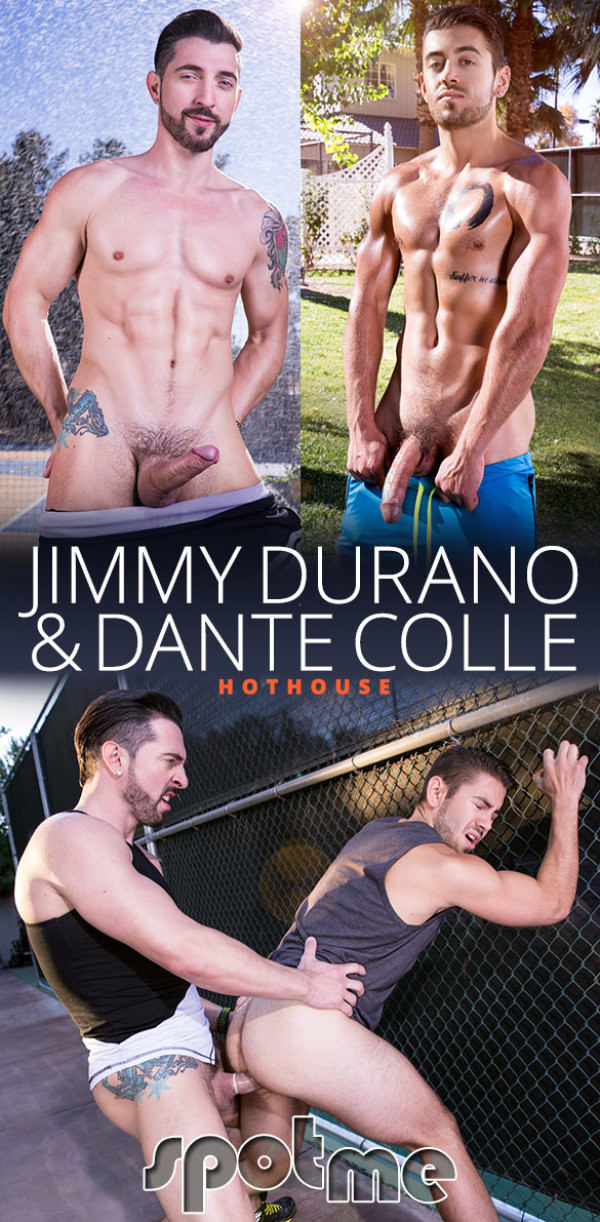 HotHouse Spot Me Jimmy Durano fucks two loads out of Dante Colle