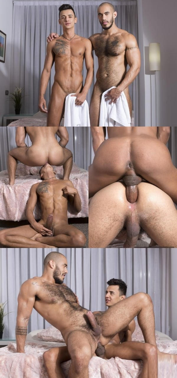 FuckerMate Perfect Fit Camilo Uribe and Louis Ricaute Bareback