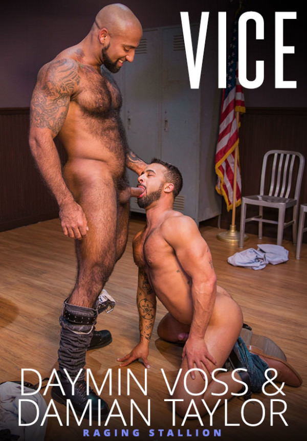 RagingStallion Vice Daymin Voss & Damian Taylor blow each other