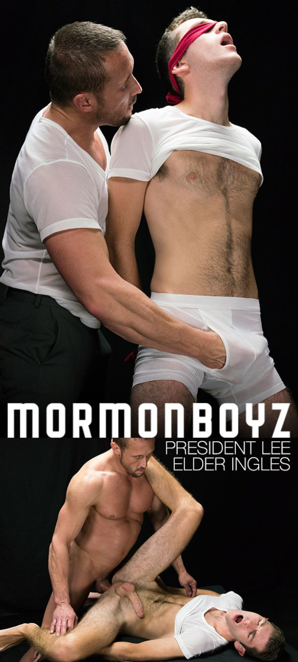 MormonBoyz Disciplinary Action President Lee barebacks Elder Ingles