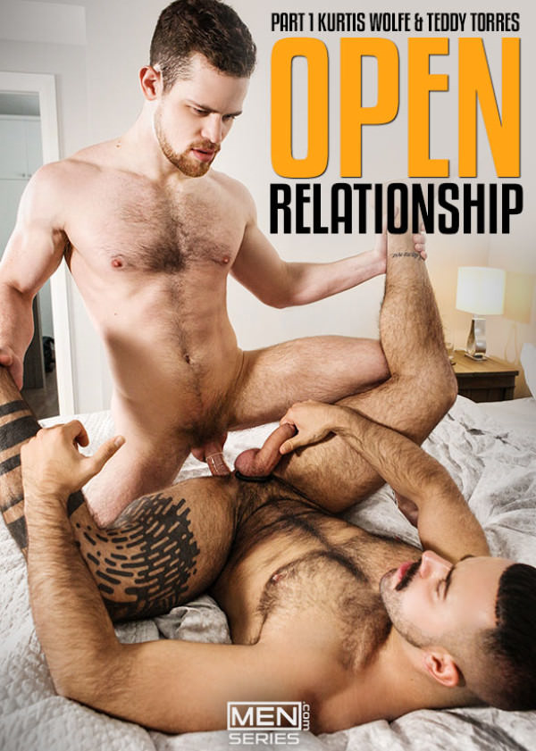 Men.com Open Relationship, Part 1 - Kurtis Wolfe & Teddy Torres bang each other DrillMyHole