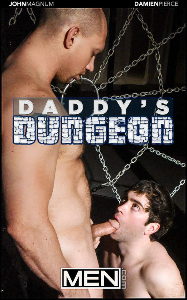 Men.com Daddy's Dungeon Part 2 John Magnum Fucks Damien Pierce DrillMyHole