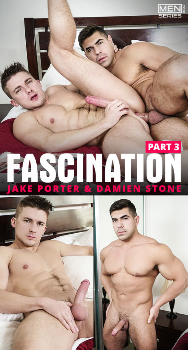 Men.com Fascination, Part 3 Damien Stone pounds Jake Porter Str8toGay