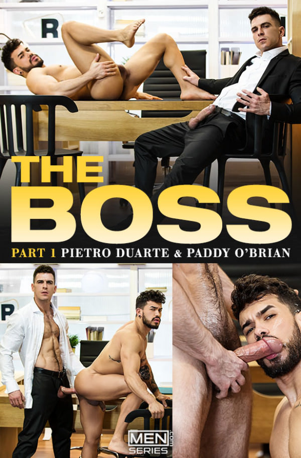 Men.com The Boss, Part 1 Paddy O'Brian fucks Pietro Duarte TheGayOffice