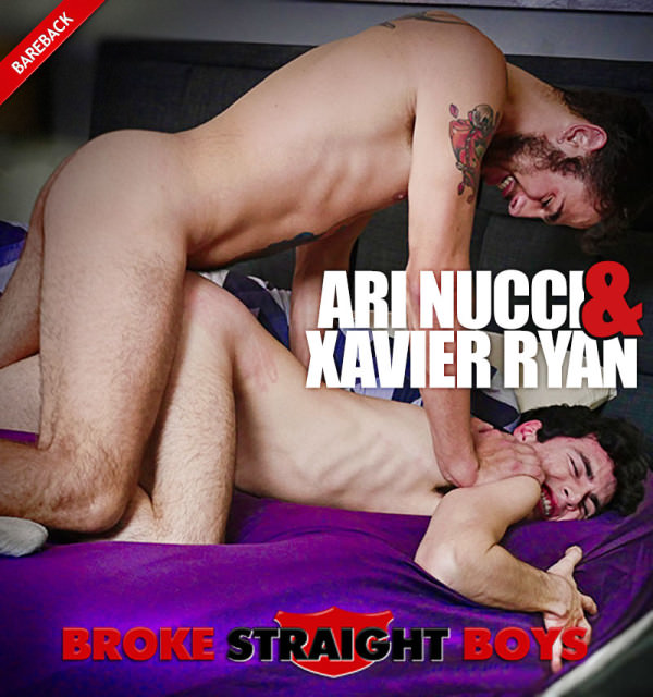 BrokeStraightBoys Ari Nucci Pounds Xavier Ryan Bareback