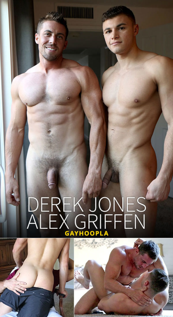 GayHoopla Derek Jones fucks Alex Griffen