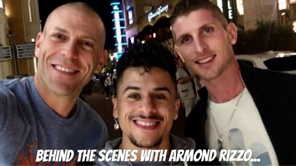 OnlyFans BigCMen Behind The Scenes With Armond Rizzo