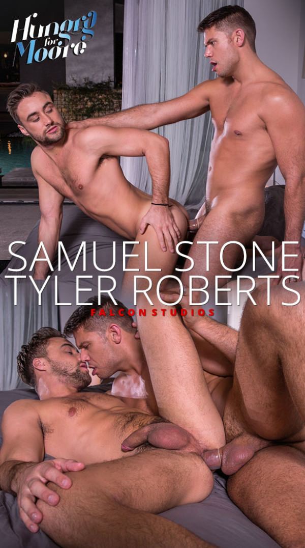 FalconStudios Hungry for Moore Tyler Roberts fucks Samuel Stone