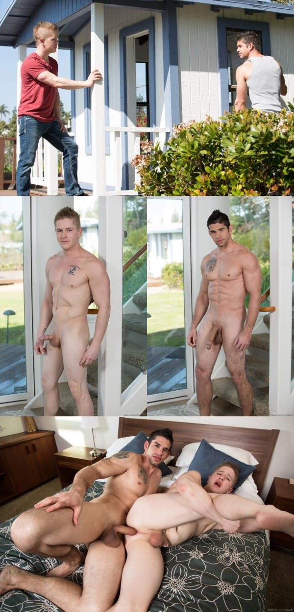 NextDoorRaw Big Things in Little Towns Chris Blades Jason Richards Bareback