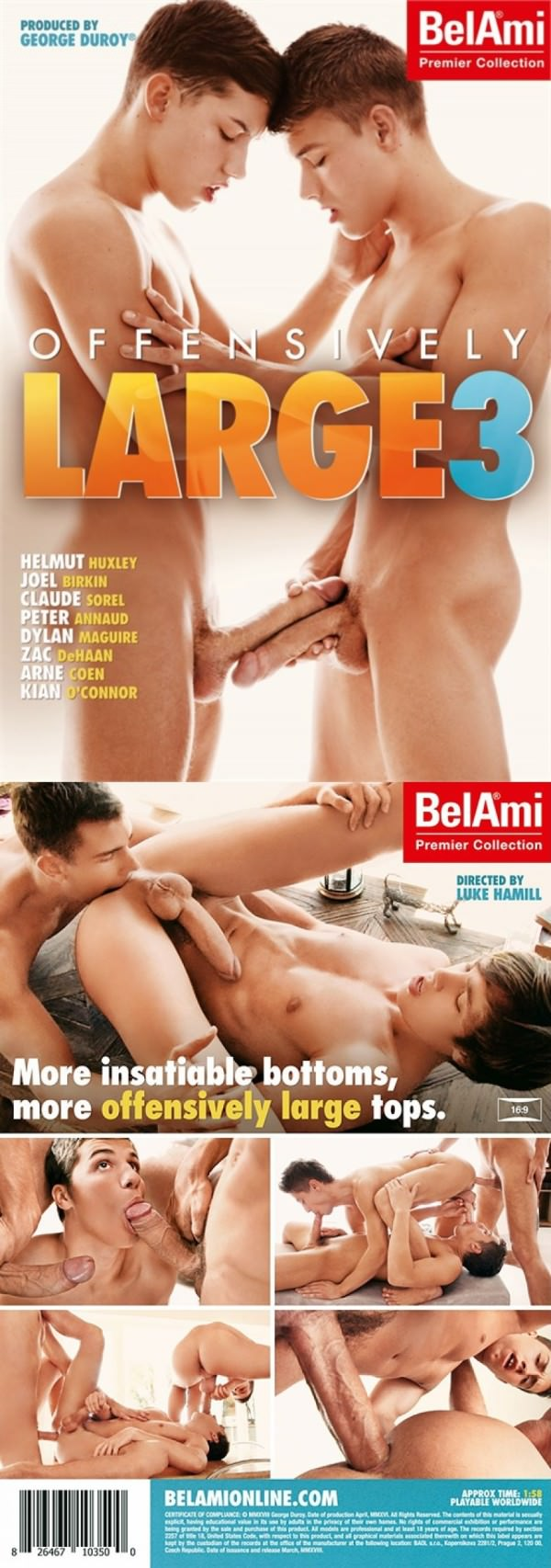 BelAmiOnline Offensively Large 3 DVD