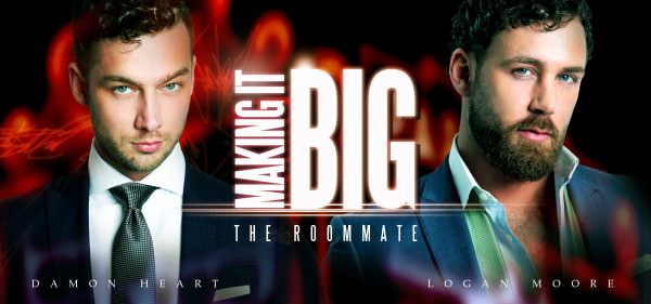 Menatplay Making It Big: The Roommate Damon Heart Logan Moore