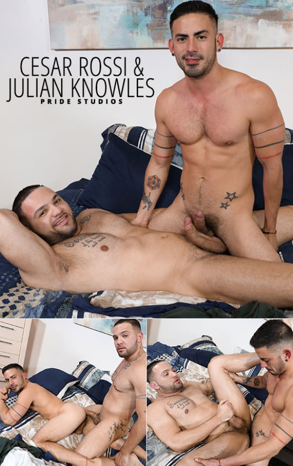 PrideStudios Fourth Year Lovers Cesar Rossi Julian Knowles flip fuck