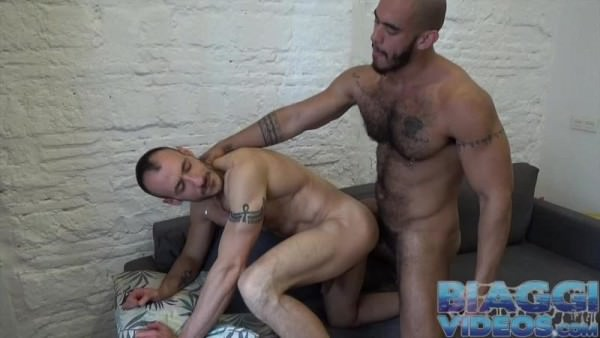 BiaggiVideos Eli Chaim Louis Ricaute Arab Getting Fucked Bareback