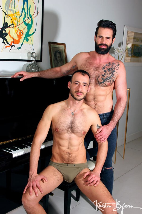 KristenBjorn The Pianist Dani Robles Ely Chaim Bareback
