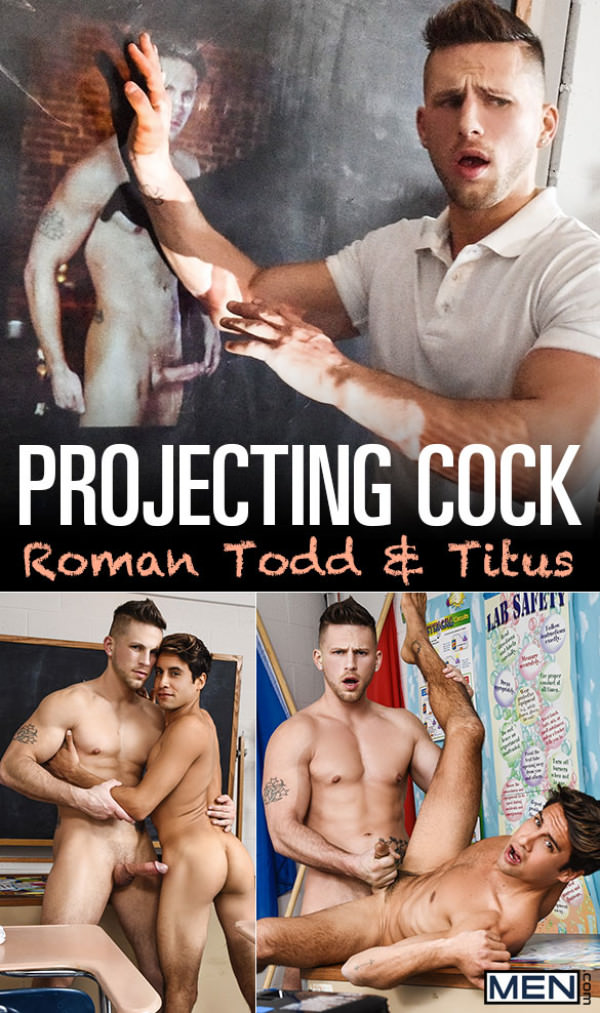 Men.com Projecting Cock Roman Todd fucks Titus Big Dicks at School