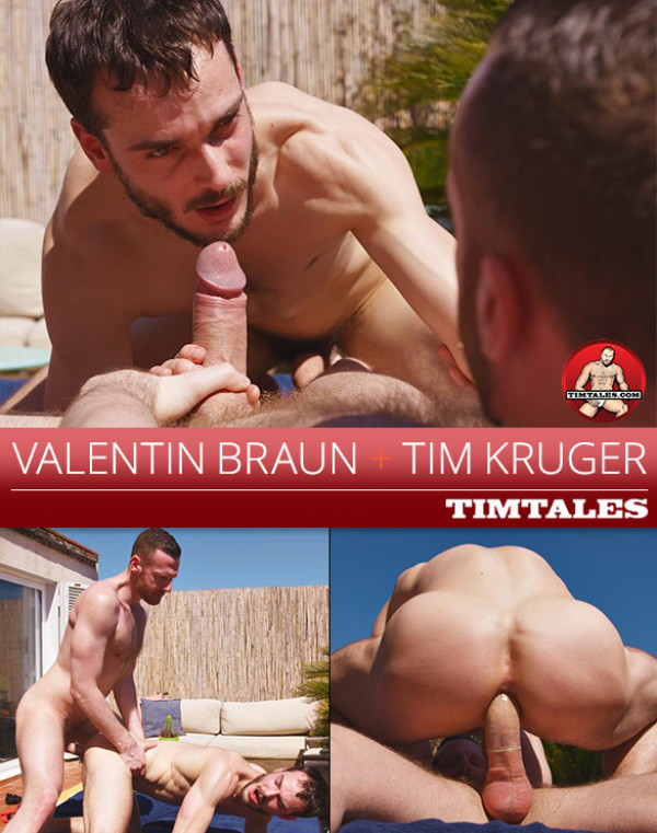 TimTales Valentin Braun rides Tim Kruger's thick dick