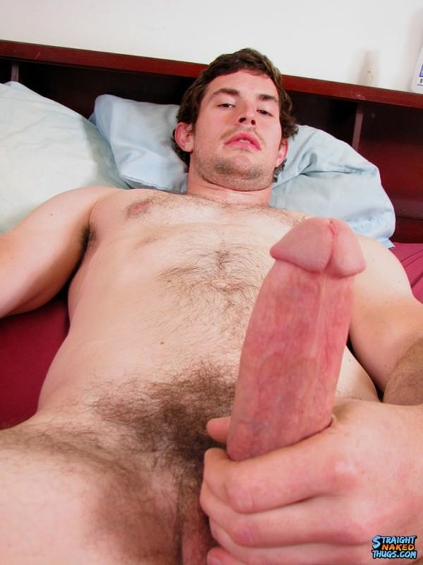 StraightNakedThugs Emptying His Big Jock Balls Hunter