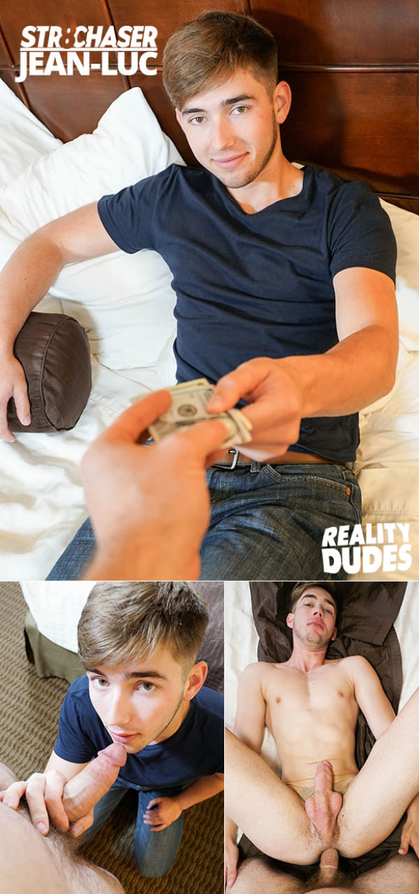 RealityDudes Broke student Jean-Luc takes cock for money Str8Chaser