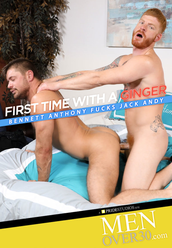 MenOver30 First Time With A Ginger Bennett Anthony Fucks Jack Andy
