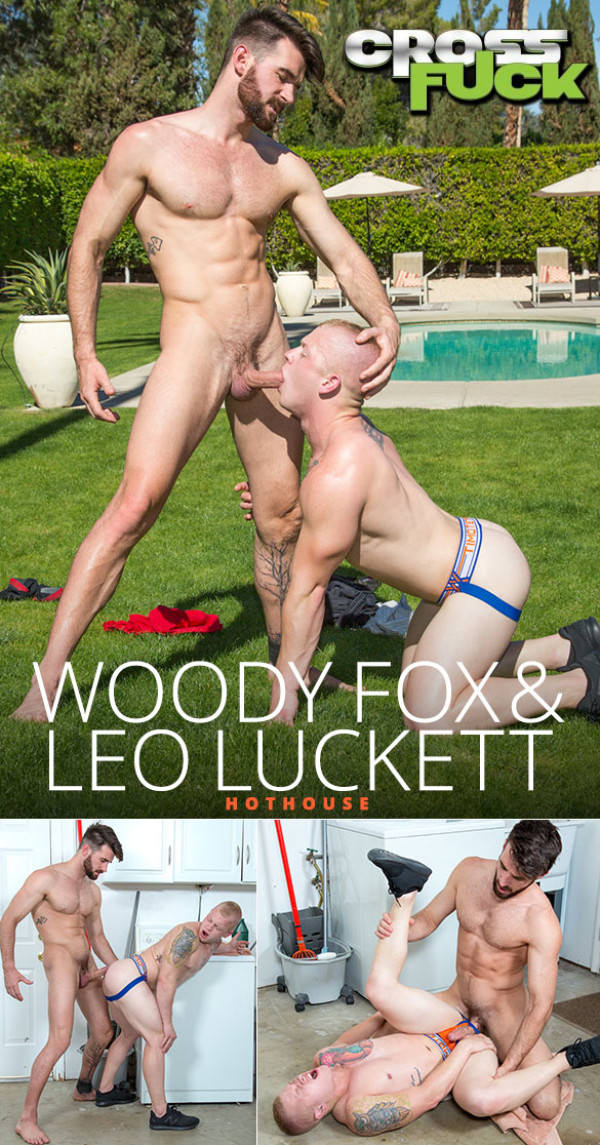 HotHouse Cross Fuck Woody Fox Leo Luckett