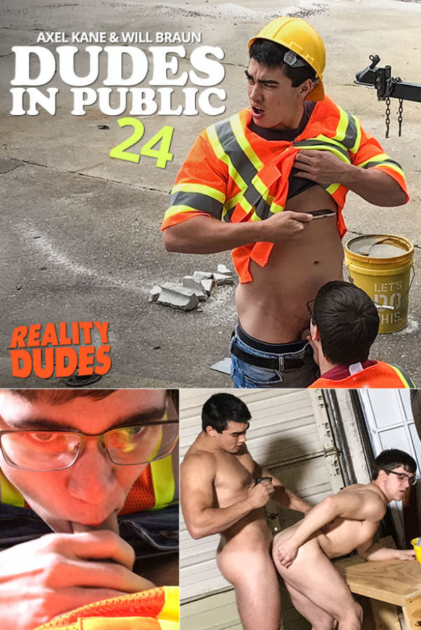 RealityDudes Dudes In Public 24 Working Stiff Axel Kane fucks Will Braun