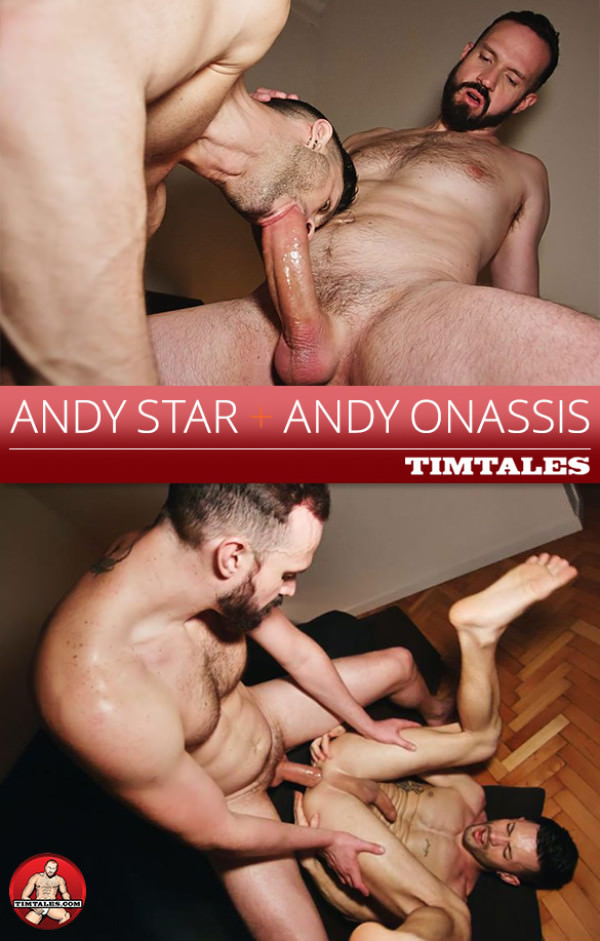 TimTales Andy Onassis bangs Andy Star raw