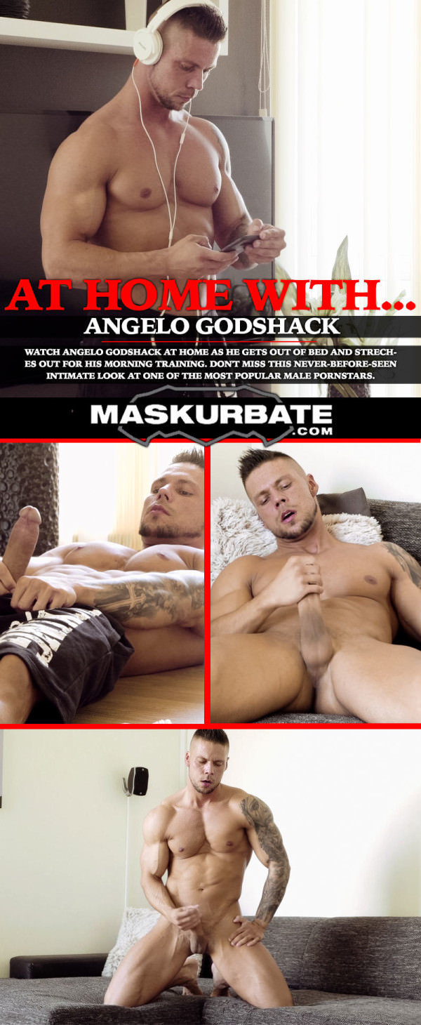 Maskurbate At Home With Angelo Godshack