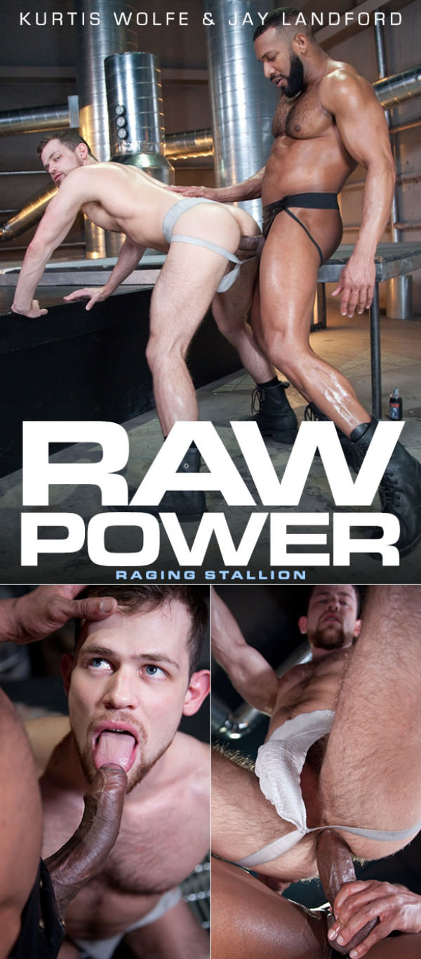 RagingStallion Raw Power Jay Landford creampies Kurtis Wolfe