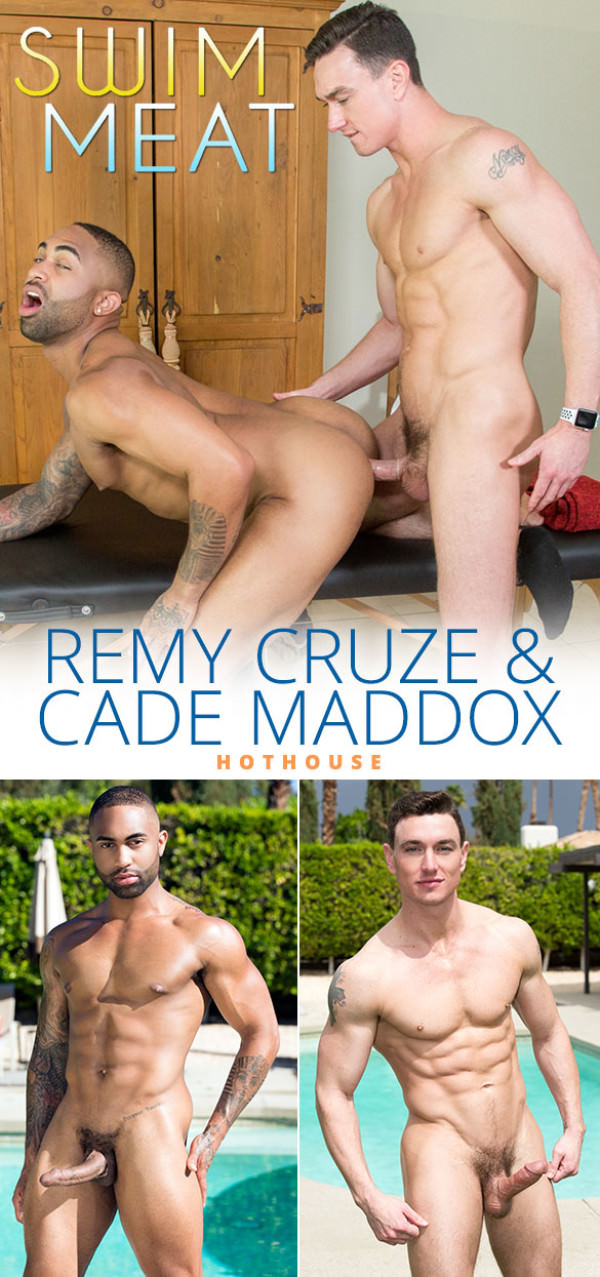 HotHouse Swim Meat Cade Maddox fucks Remy Cruze