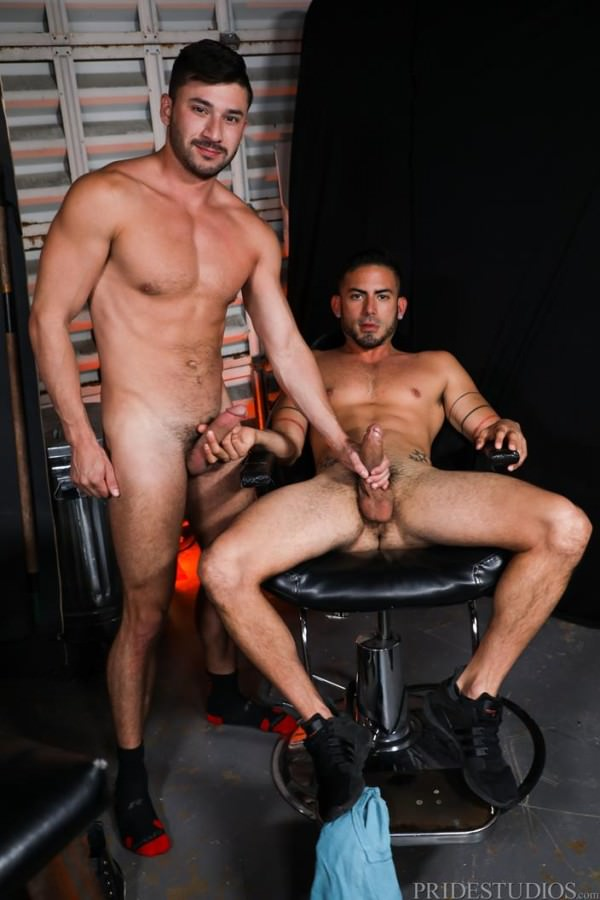 PrideStudios First Time Players Cesar Rossi Scott DeMarco