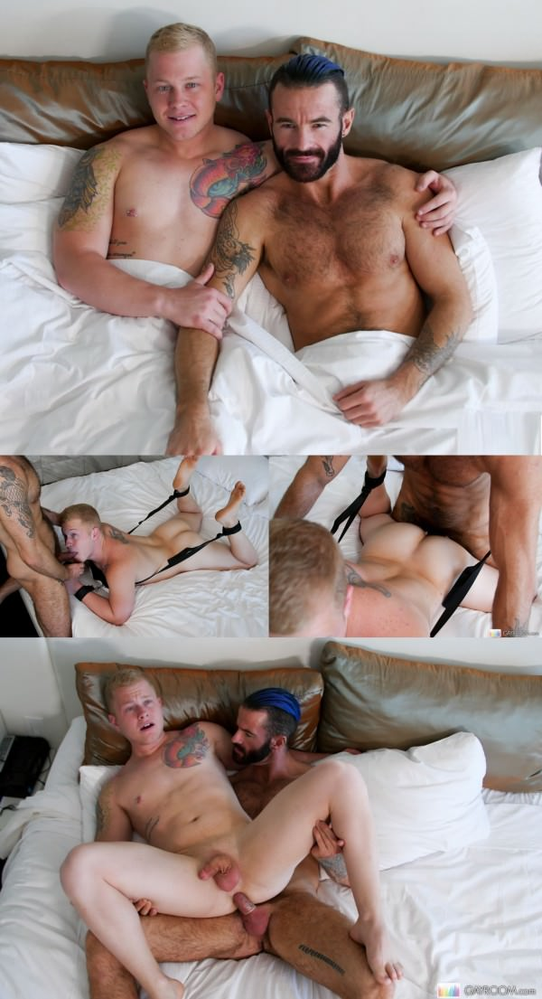 GayRoom All Tied Up Brendan Patrick Leo Luckett