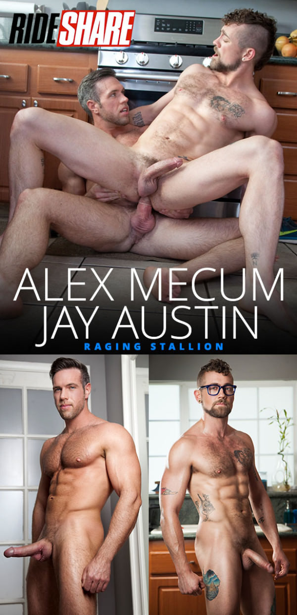 RagingStallion Ride Share Alex Mecum tops Jay Austin