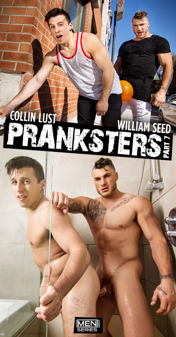 Men.com Pranksters, Part 7 William Seed drills Collin Lust DrillMyHole