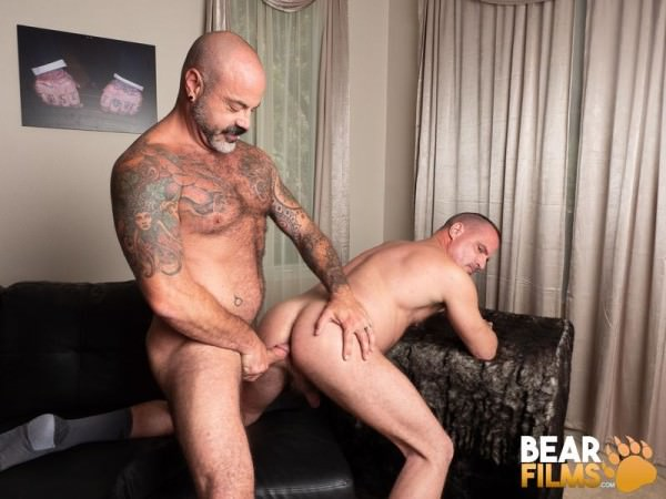 BearFilms Married and A Bear Scotty Rage Christian Mitchell Bareback