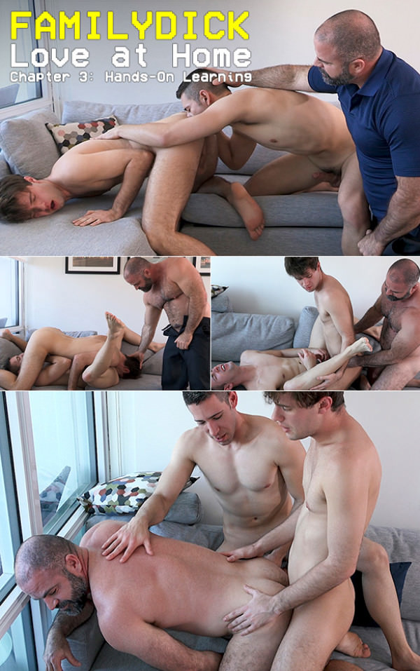 FamilyDick Love at Home Chapter 3 Hands-On Learning Bareback