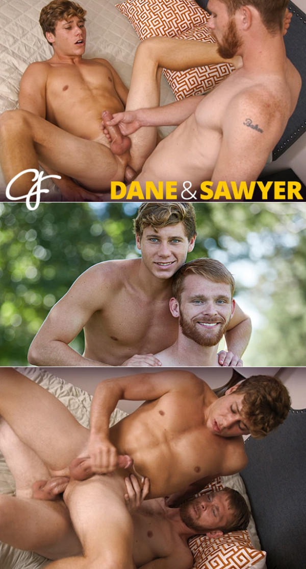 CorbinFisher Big-dicked Sawyer bangs Dane raw