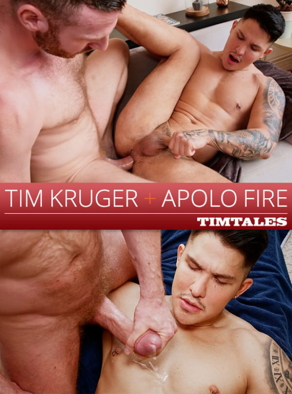 TimTales Tim Kruger bangs Apolo Fire