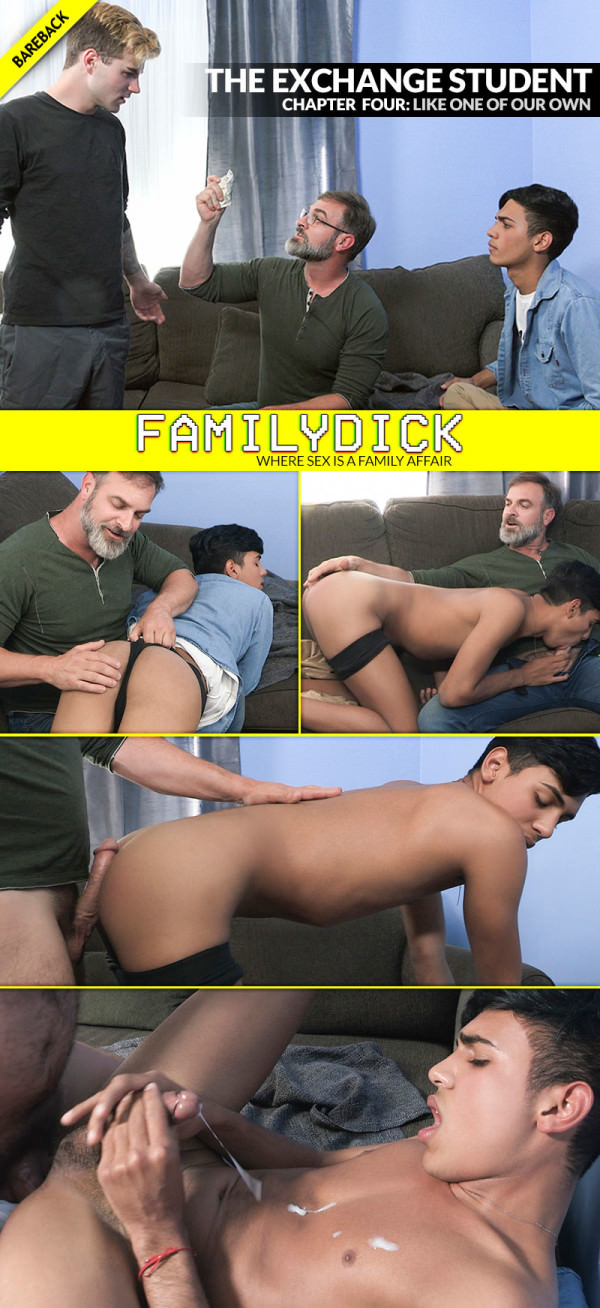 FamilyDick The Exchange Student: Like One Of Our Own Bareback