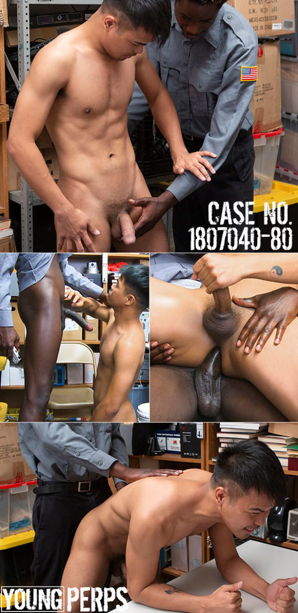 YoungPerps Case No. 1807040-80 Shoplifter rides mall cop's huge cock bareback