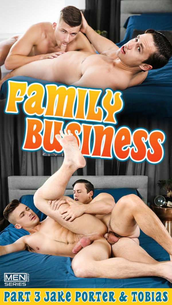 Men.com Family Business, Part 3 Tobias fucks Jake Porter DrillMyHole