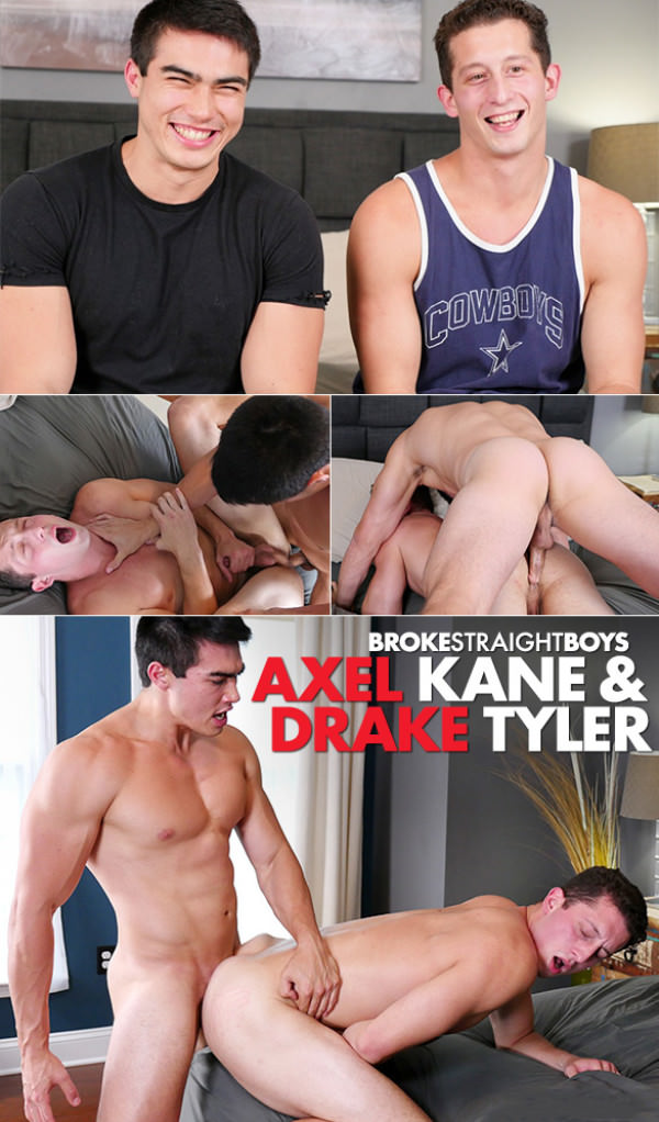 BrokeStraightBoys Axel Kane pounds Drake Tyler raw