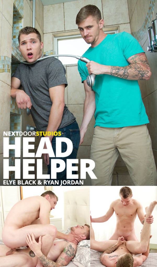NextDoorBuddies Head Helper Elye Black Ryan Jordan flip fuck bareback