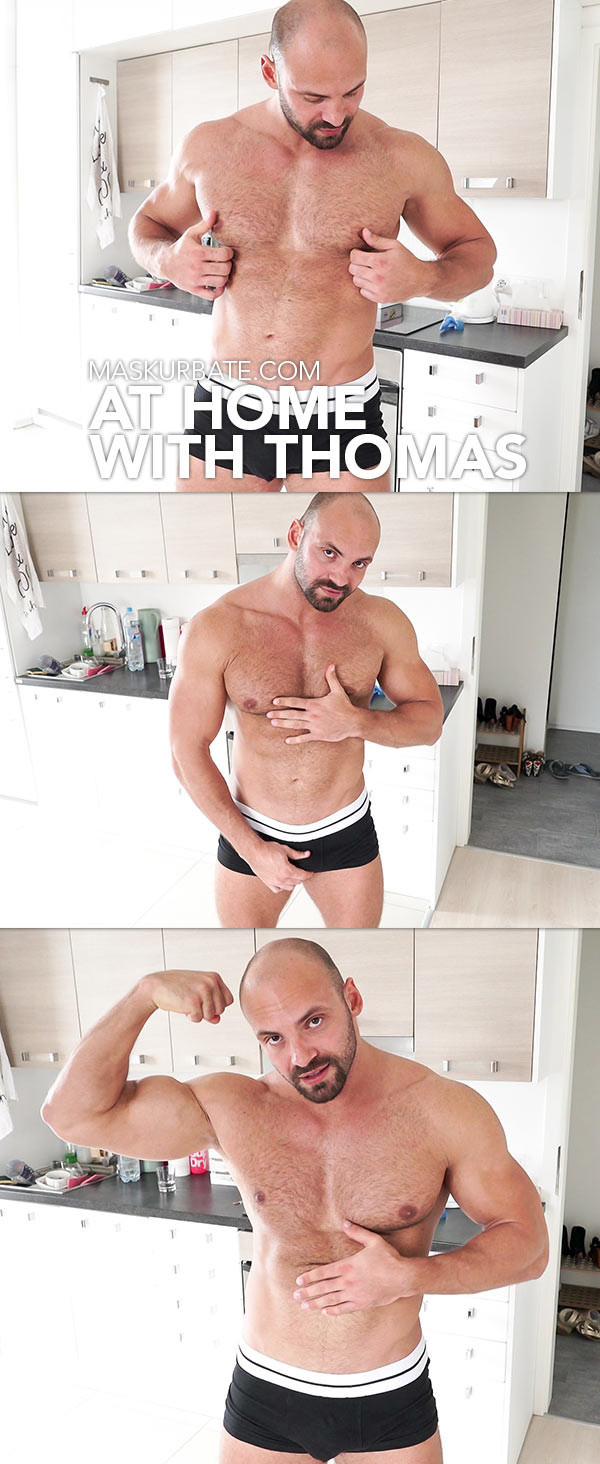 Maskurbate At Home with Thomas