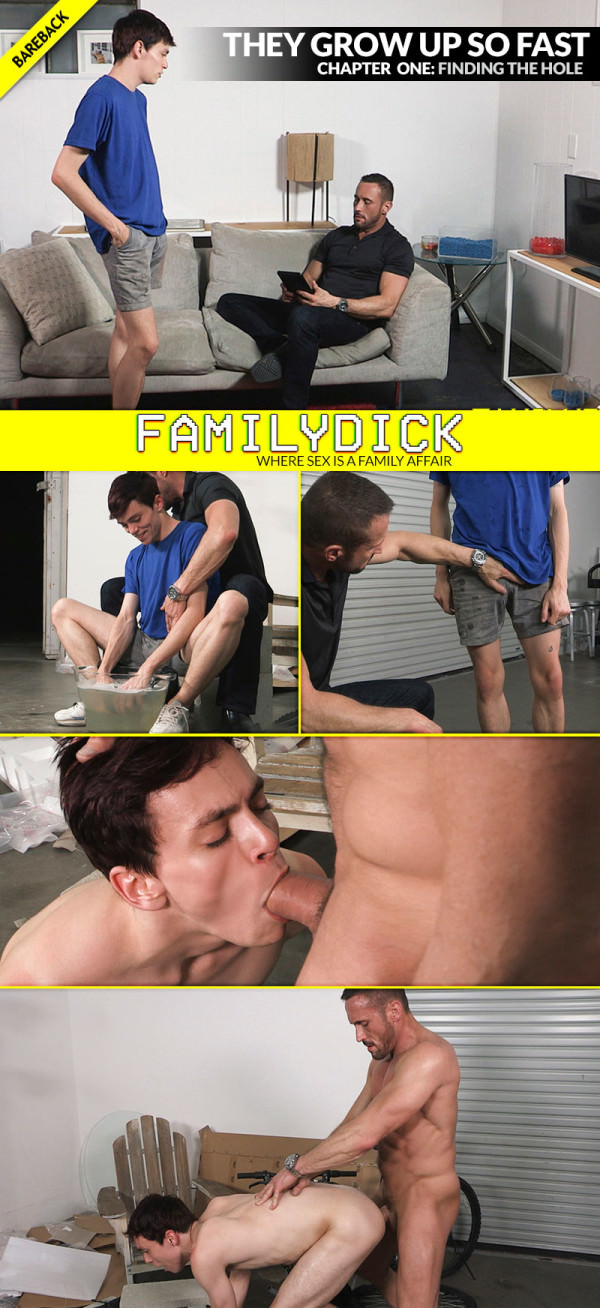 FamilyDick They Grow Up So Fast, Chapter 1: Finding The Hole Myles Landon Bareback