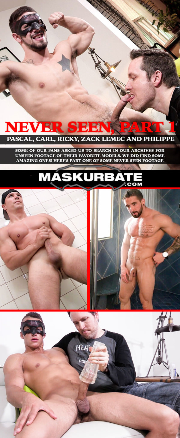 Maskurbate Never Seen Footage, Part 1 Pascal, Carl, Ricky, Zack Lemec Philippe