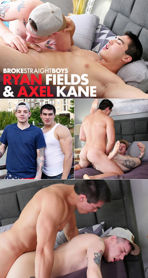 BrokeStraightBoys Axel Kane pounds Ryan Fields raw
