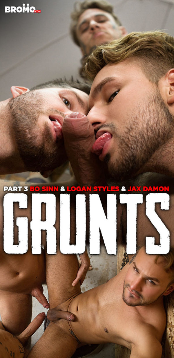 Bromo Grunts, Part 3 Bo Sinn Logan Styles tag team Jax Damon raw