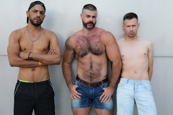 Ericvideos Jose, Philippe Tahar A full day Part 1 Bareback