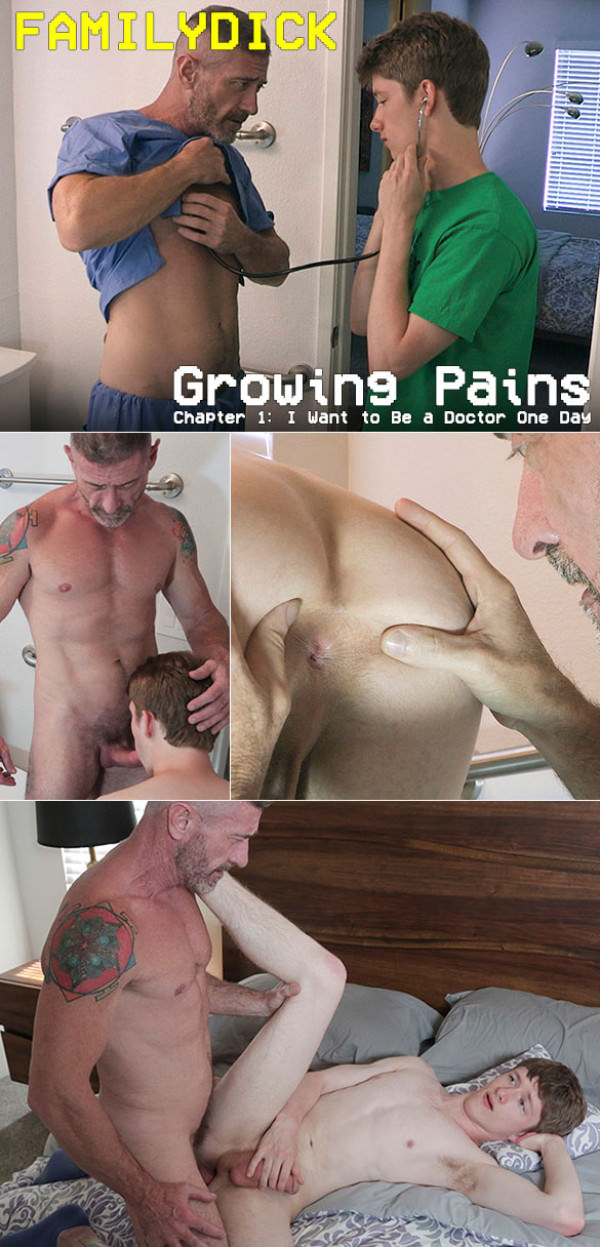 FamilyDick Growing Pains Chapter 1 I Want to Be a Doctor One Day Bareback